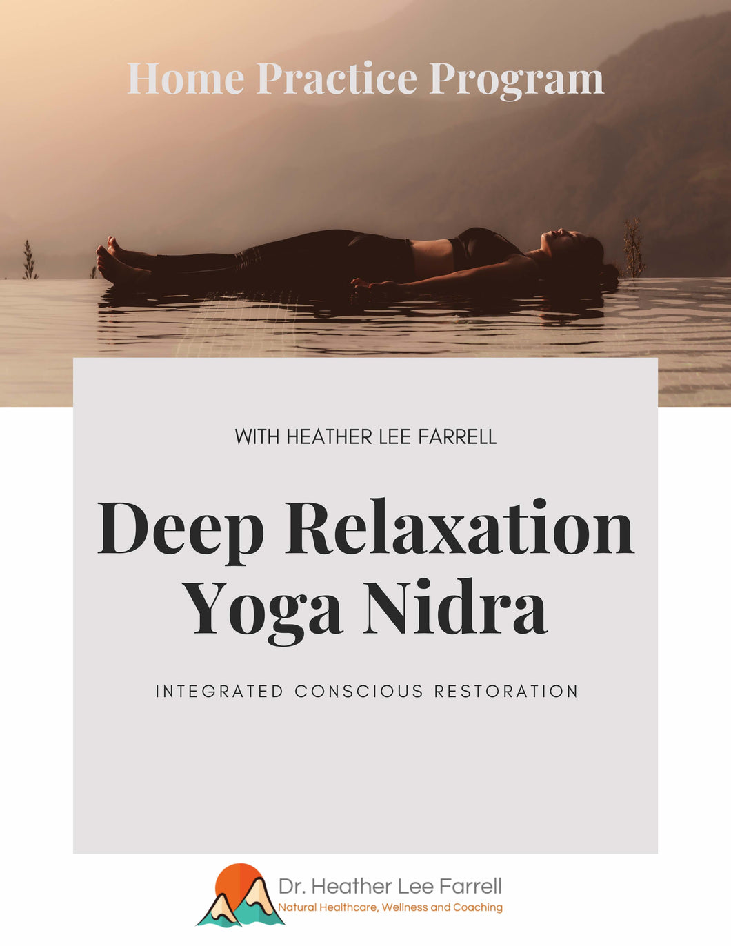 Deep Relaxation Yoga Nidra Immersive Home Practice Program