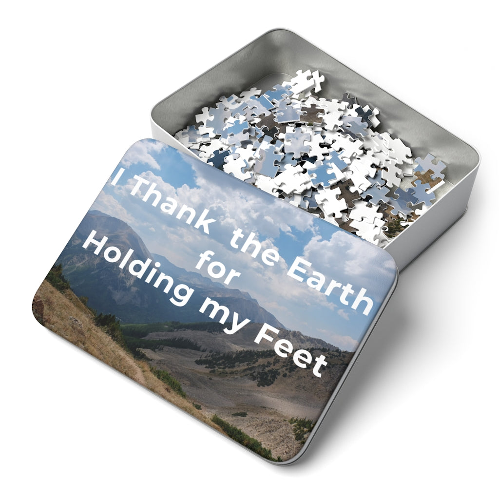 I Thank the Earth for Holding my Feet 252 Piece Puzzle