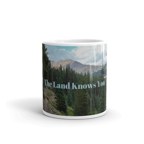 The Land Knows You Art Mug