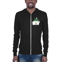 Load image into Gallery viewer, Forest Bathing Unisex zip hoodie