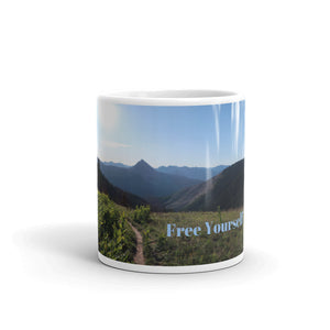 Free Yourself Art Mug