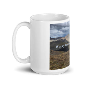 Worry Pretends to be Necessary Art Mug