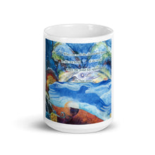 Load image into Gallery viewer, Who can read the leaves? Art Mug