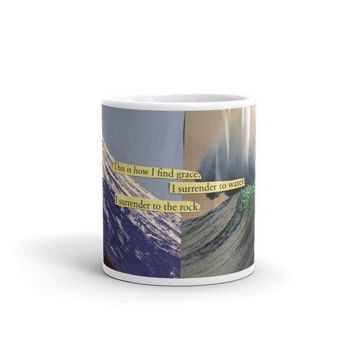 This is How I Find Grace Art Mug