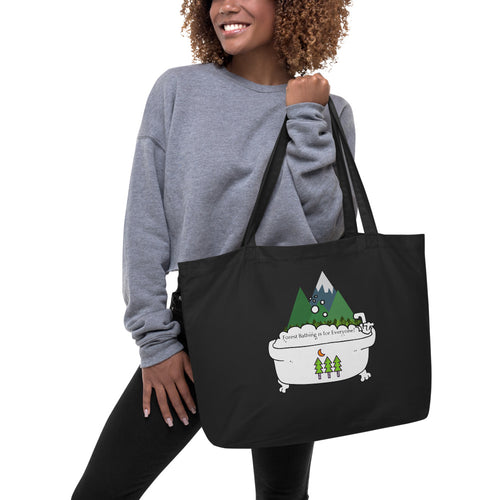 Forest Bathing Large organic tote bag