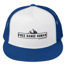 Load image into Gallery viewer, Free Range Human Trucker Cap