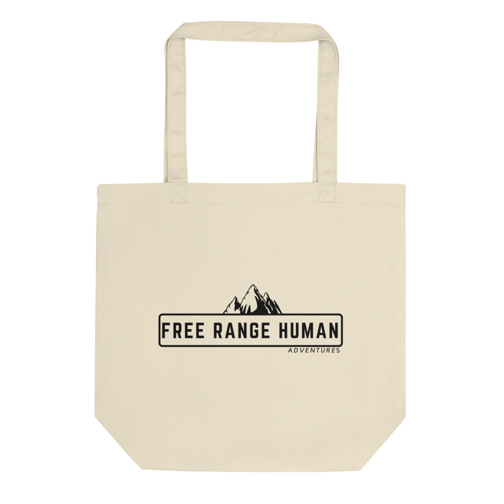 Free Range Human small Eco Tote Bag