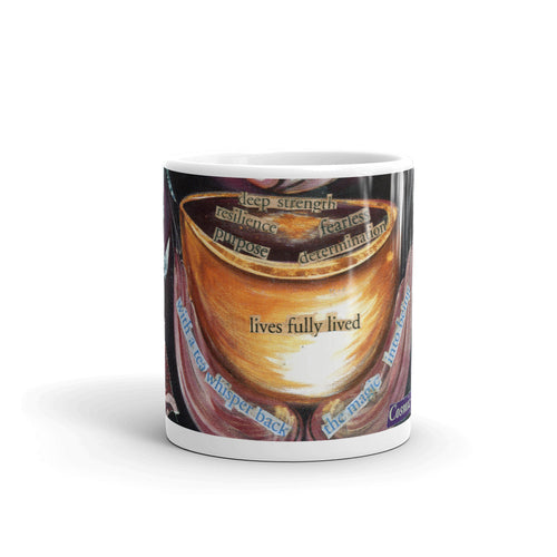Lives Fully Lived Art Mug