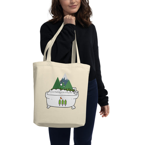 Forest Bathing small Eco Tote Bag