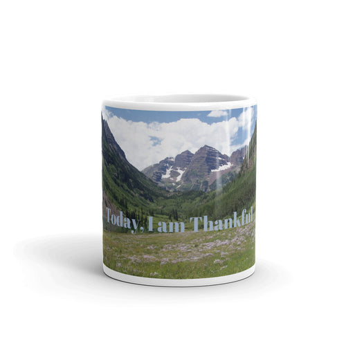 Today, I am Thankful Art Mug