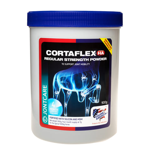Equine Cortaflex HA Powder Regular Strength (900gm) - 4 Months Supply - Equine America
