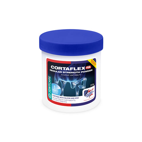 Equine Cortaflex HA Regular Strength Powder 250g - 1 Month Supply - Equine America