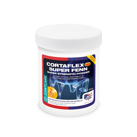 Image of Equine Cortaflex HA Super Fenn Powder (500g) - 2 Months Supply - Equine America