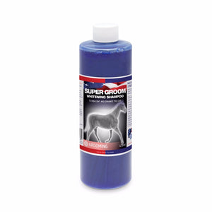 Super Groom Whitening Shampoo (473ml) - Equine America