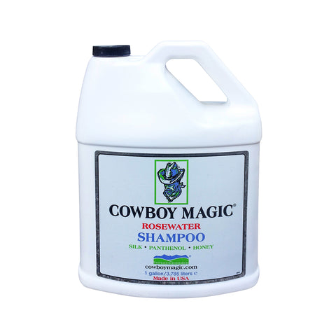 Cowboy Magic Rosewater Shampoo with Silk Conditioners - One Gallon