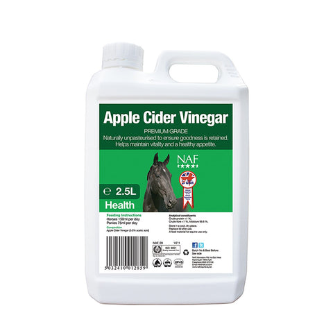 Apple Cider Vinegar - NAF | Equine Supplements | Supplements for Horses