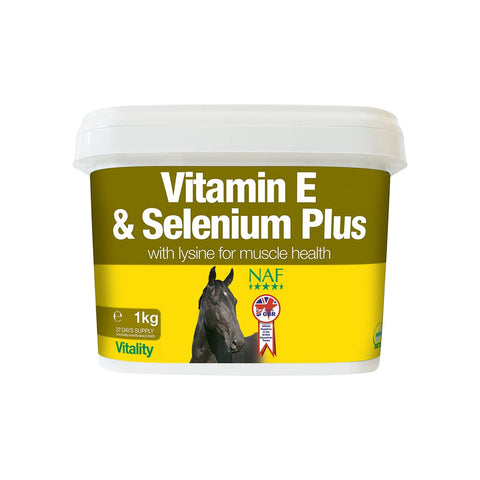 Vitamin E and Selenium Plus - NAF