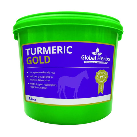 Equine Turmeric Powder for Horses (1.8kg) - Global Herbs
