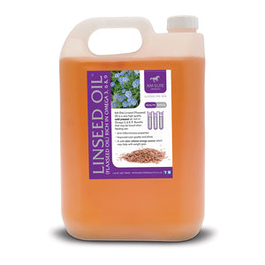 Linseed (FLAXSEED) Oil 5L without Pump - KM Elite