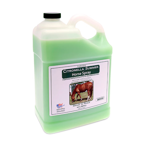 Citronella Summer Horse Spray (4L) - Equine America