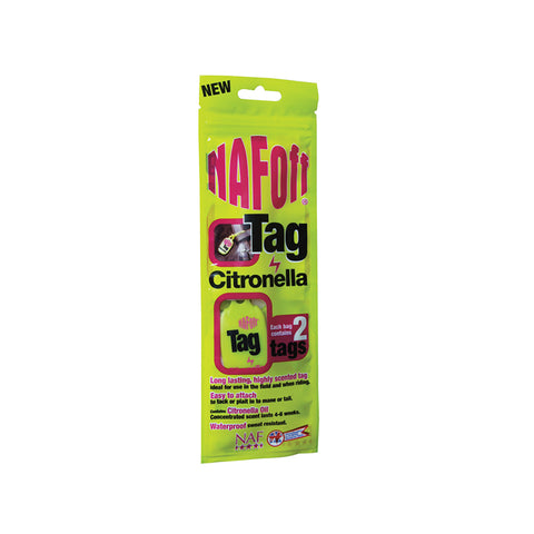 NAF Off Citronella Tags (6)  - NAF