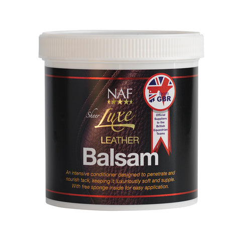 Sheer Luxe Leather Balsam (400g) - NAF