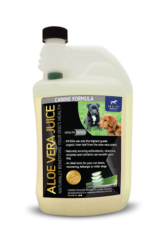 Canine Aloe Vera Juice (Inner Leaf Only) 500ml - K9 Elite