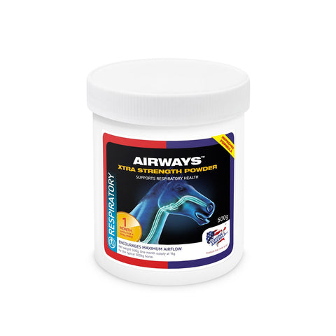 Airways Xtra Strength Powder 500g - Equine America