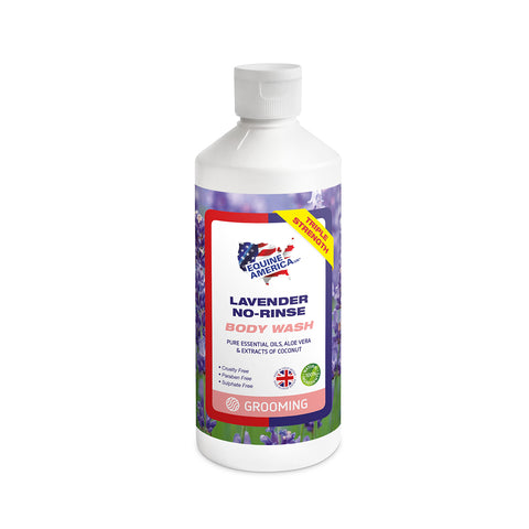 Lavender No Rinse Body Wash 500ml - Equine America