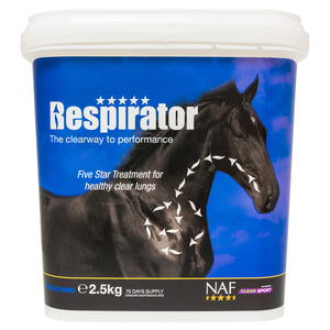 5star Respirator 2.5kg  - NAF | Equine Supplements | Supplements for Horses