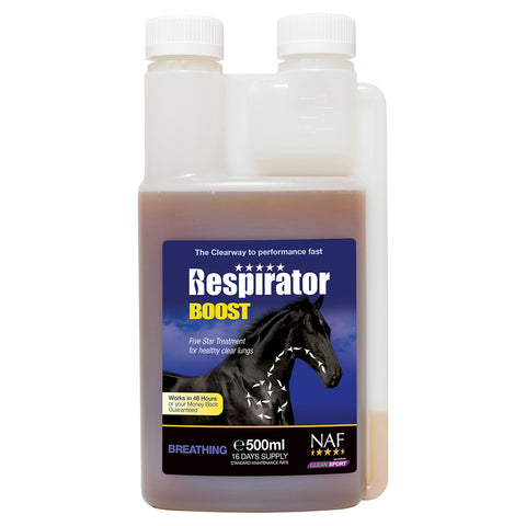 Image of 5star Respirator Boost 500ml  - NAF | Equine Supplements | Supplements for Horses
