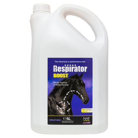 Image of 5star Respirator Boost 5L  - NAF | Equine Supplements | Supplements for Horses