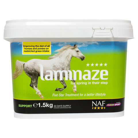 5star laminaze 1.5kg  - NAF | Equine Supplements | Supplements for Horses