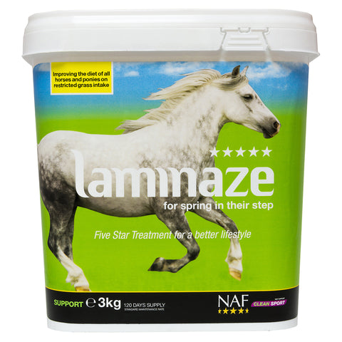 5star laminaze 3kg  - NAF | Equine Supplements | Supplements for Horses
