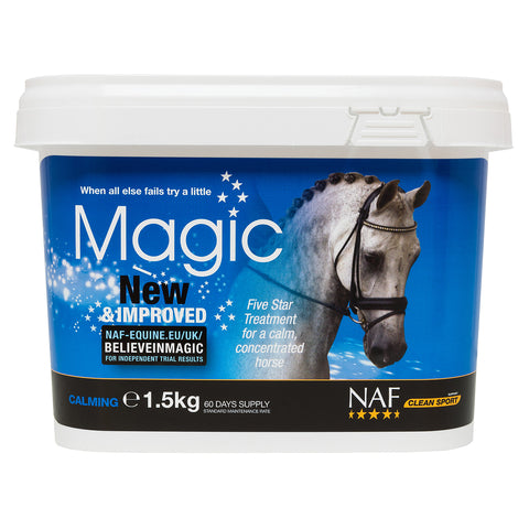 Image of 5star magic 1.5kg  - NAF | Equine Supplements | Supplements for Horses