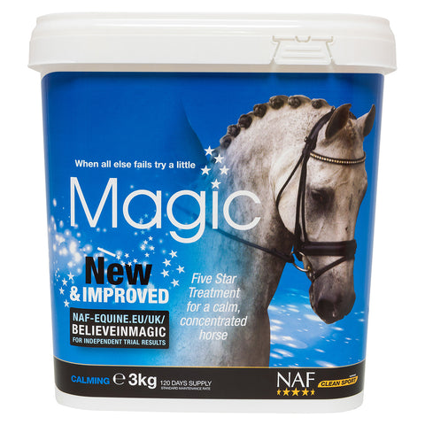 5star magic 3kg  - NAF | Equine Supplements | Supplements for Horses