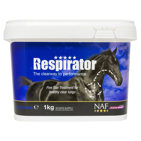 Image of 5star respirator 1kg  - NAF | Equine Supplements | Supplements for Horses