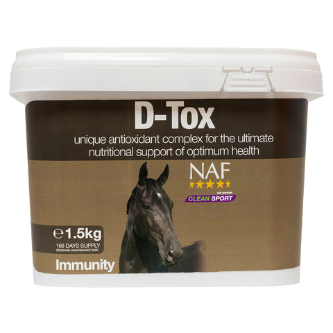 D-Tox 1.5kg  - NAF | Equine Supplements | Supplements for Horses