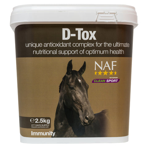 D-Tox 2.5kg  - NAF | Equine Supplements | Supplements for Horses