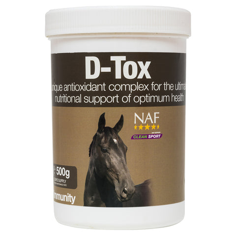 D-Tox 500g  - NAF | Equine Supplements | Supplements for Horses