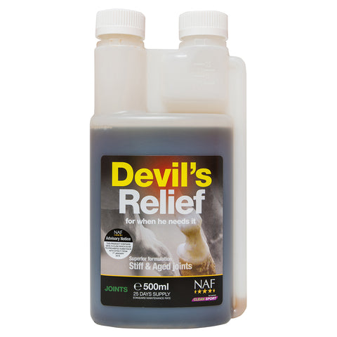 Devils Relief 500ml - NAF | Equine Supplements | Supplements for Horses