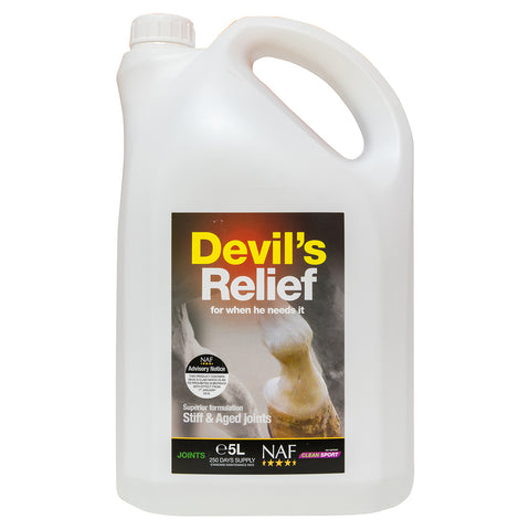 Devils Relief 5L - NAF | Equine Supplements | Supplements for Horses