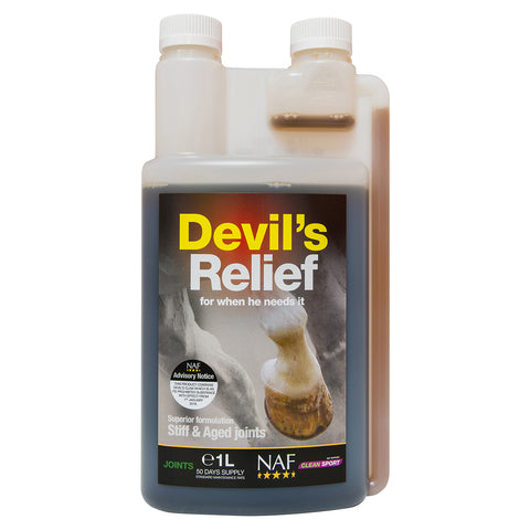 Devils Relief 1L - NAF | Equine Supplements | Supplements for Horses