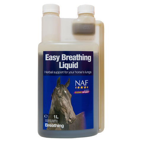 Easy Breathing Liquid 1L - NAF | Equine Supplements | Supplements for Horses