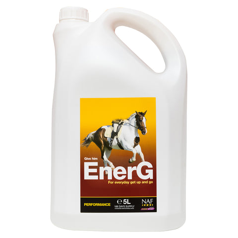 EnerG 5L  - NAF | Equine Supplements | Supplements for Horses