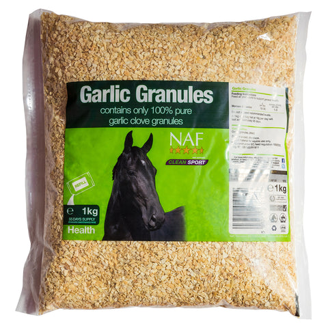 Image of Garlic Granules 1kg - NAF | Equine Supplements | Supplements for Horses