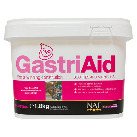 GastriAid 1.8kg - NAF | Equine Supplements | Supplements for Horses