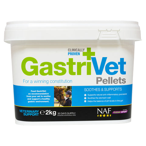 GastriVet 2kg pellets  - NAF | Equine Supplements | Supplements for Horses
