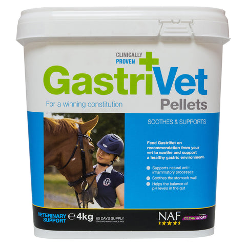 GastriVet 4kg pellets  - NAF | Equine Supplements | Supplements for Horses