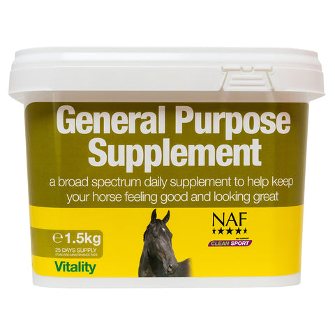 Image of General Purpose Supplement 1.5kg  - NAF | Equine Supplements | Supplements for Horses